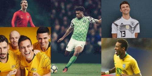 7fc81a48e Seems like Nigeria is already winning even before the start of the FIFA world  cup in Russia. The Nigerian jersey has been voted the best jersey out of the  ...