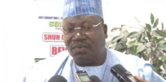 Breaking!!! Ahmed Lawan leads Senate Presidency election takes place