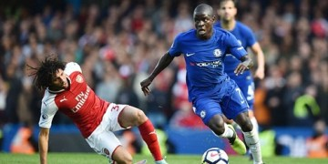 One-Man-Down Arsenal Draw Chelsea
