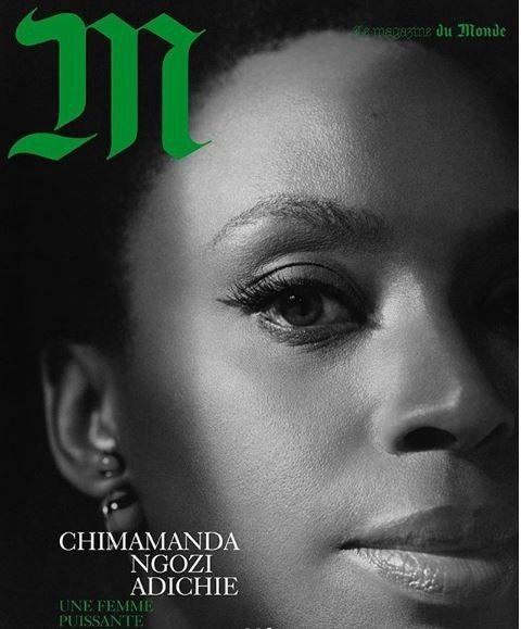 Candy TV -  Online Entertainment Tv Chimamanda Adichie Covers French Magazine 'M-Lemonade' (Photos)