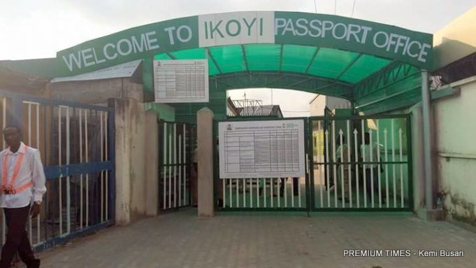 Entrance of Ikoyi passport office 681x383 - A few things you should know, when getting your Nigerian passport