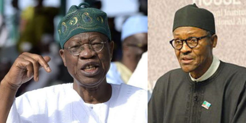 buhari has performed exceptionally well he deserves a second term in office lai mohammed - 'It was easy to sell Buhari to the international community' – Lai Mohammed