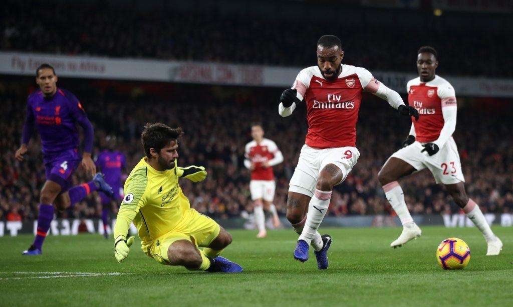Arsenal Defeats Everton In 5 Goals Thriller