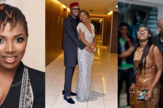 'Since dem born me, I never love person the way wey I love you' – Annie and Tuface Idibia  celebrate 6th wedding anniversary