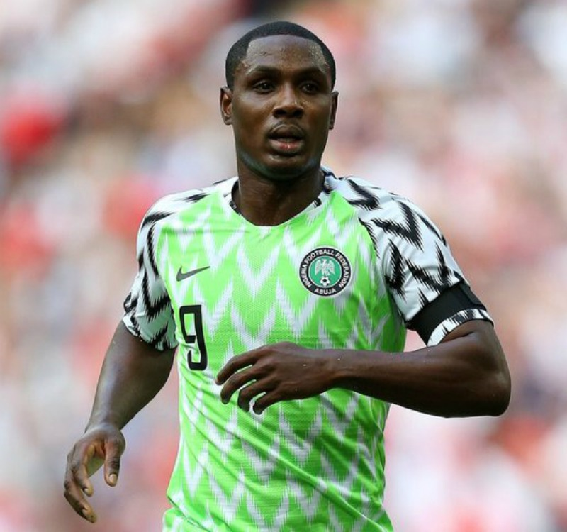 footballer odion ighalo shares rare photos with his mom inside a plane - Why I refused to join Barcelona in January