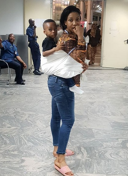 ill never allow my son call anyone who isnt family uncle or aunty actress tonto dikeh - See how Tonto Dikeh celebrated her mothers day