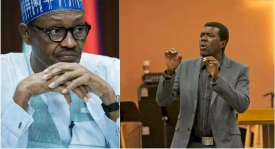 jonathans ex aide omokri accuses buhari of stealing next level campaign logo - Video: Buhari honestly told me, he doesn't know how to send text messages