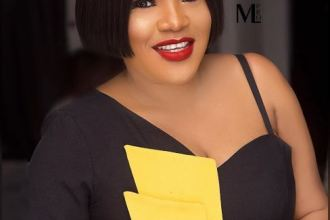 'I am on a film set, i am not pregnant' – Toyin Abraham debunks pregnancy rumor
