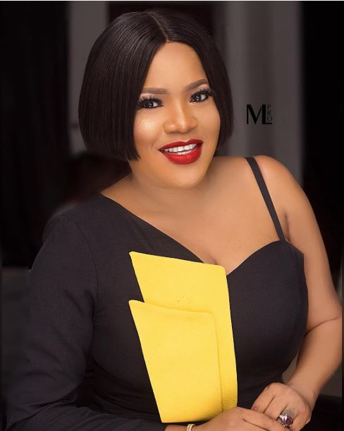 toyin abraham looks radiant in off shoulder outfit - Video: Toyin Abraham Pregnant Is Pregnant???