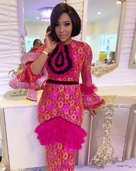 ubi franklins estranged wife actress lilian esoro stuns in lovely outfit - 'Sop running away from your mistakes' -Is Lilian Esoro shading Ubi Franklin?