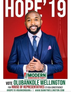 bankyw election 1 - Banky W sends a message to Nigerians