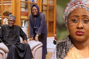 Just In: Aisha Buhari's new controversial message to Buhari stirs serious concerns