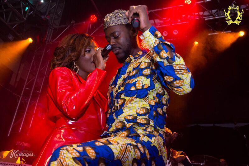 "top male celebrities turn up at adekunle gold and simi traditional wedding photo - ""Who Is Your Bro"" – Adekunle Gold Fires At Simi"