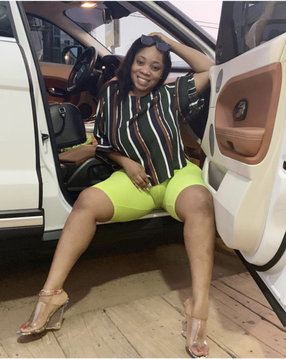 1 10 - Ghanaian actress Moesha Boduong has tongues wagging with this 'private part' photo
