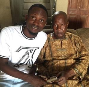 1 22 - Yoruba actors visit Baba Suwe