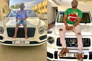Mompha blasted for buying a Bentley for his son