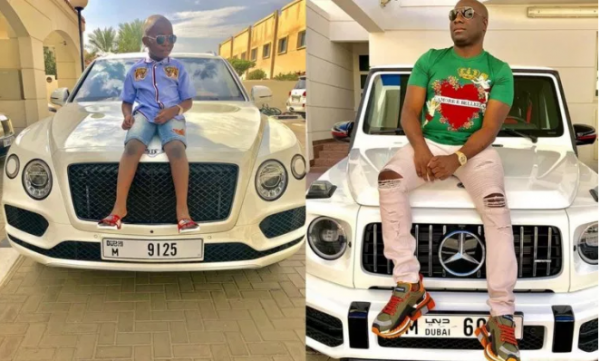 1 26 - Mompha blasted for buying a Bentley for his son