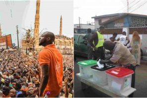 Here is the advise Davido just gave to Nigerians today being election day