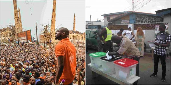1 27 - Here is the advise Davido just gave to Nigerians today being election day