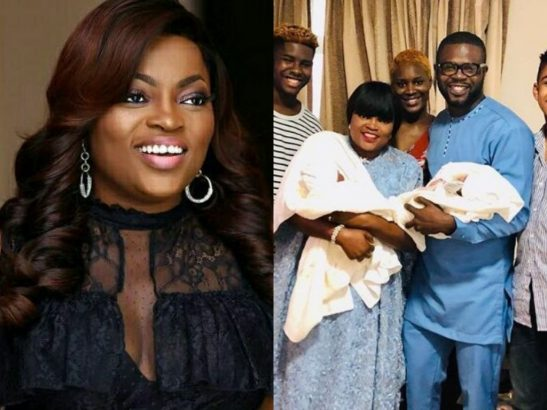 1 3 - Actress Funke Akindele-Bello Reportedly Welcomed Her Twins Via Surrogacy