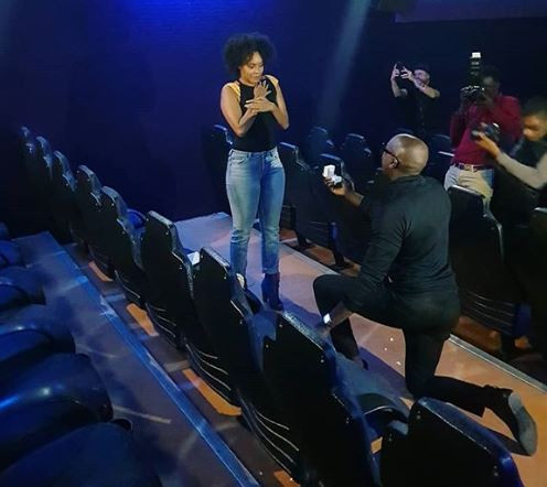 1 42 - OMG! You won't believe how singer Sauti Sol proposed to his Nigerian girlfriend