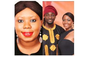 Toyosi Akerele reacts to Gbenro Ajibade and Osas Ighodaro's marital drama