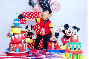 Tonto Dikeh pens beautiful birthday message for her son as he turns 3