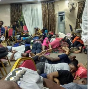 2 4 - This is a clear case of mental and physical abuse – Debola Lagos reacts to photos of corp members sleeping on cold floor
