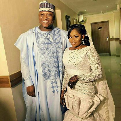 3 1 - See photos of actress Tawa Ajisefinni as she ties the knot in Ibadan