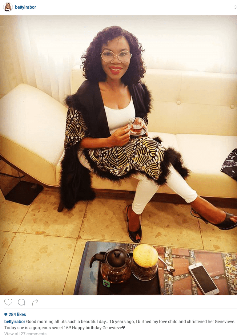 5c63ff43a5e28 - I birthed my love child and named her Genevieve – Betty Irabor celebrates Genevieve Magazine's 16th anniversary