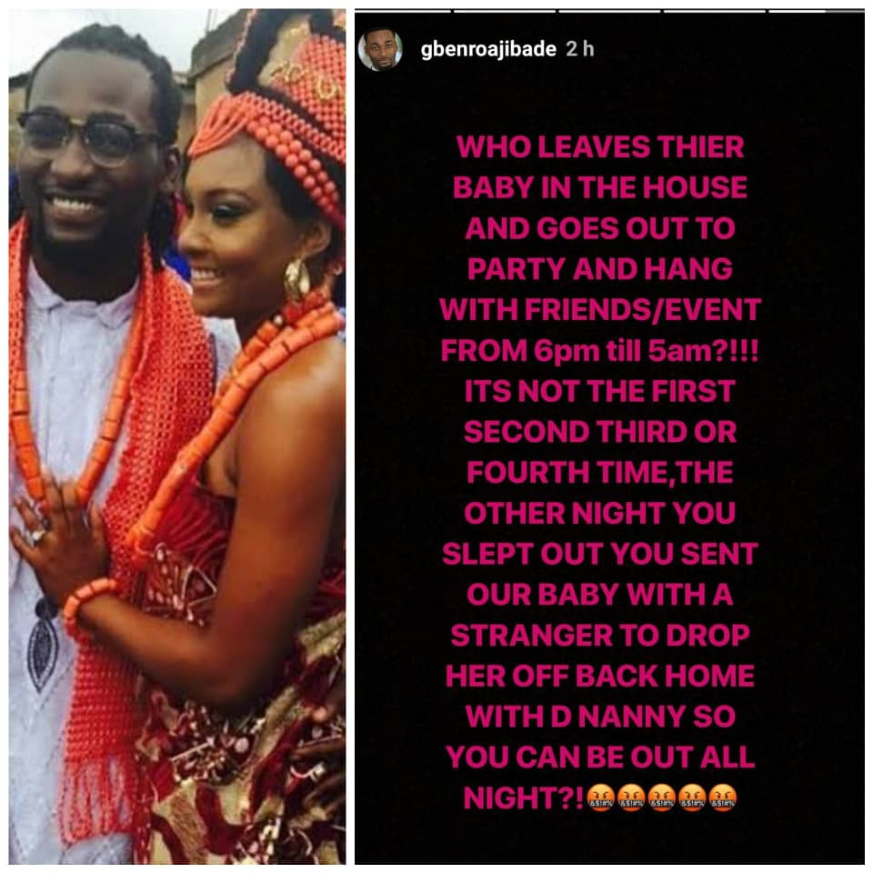 5c68ff81e22f4 - Your crocodile tears won't deceive me anymore – Gbenro Ajibade drags Osas on IG
