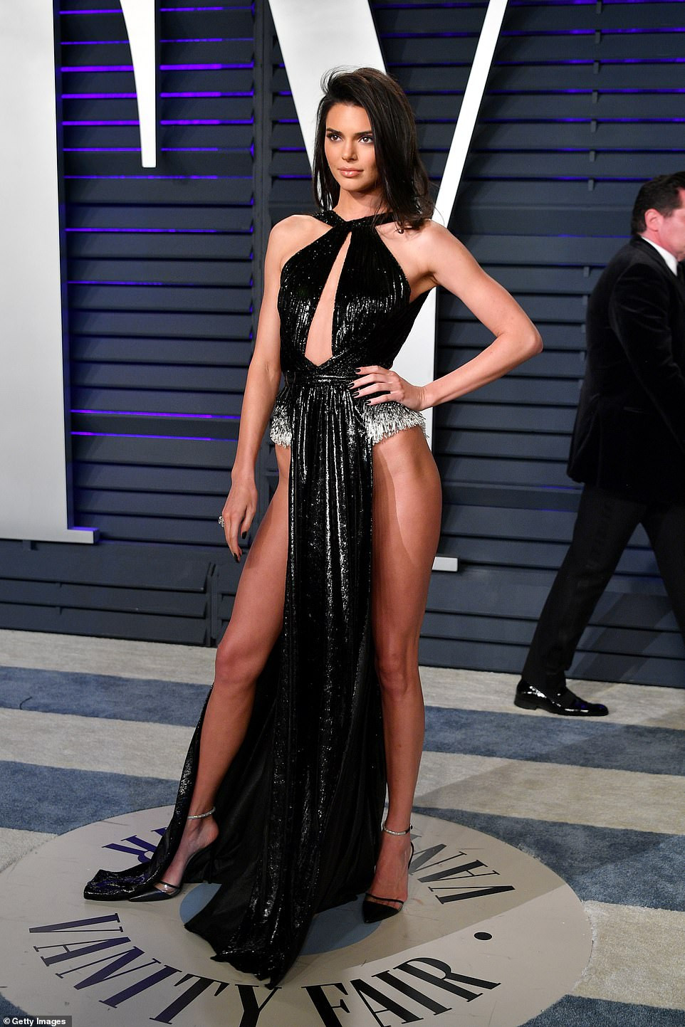 5c73a64c21dc9 - Kendall Jenner commands attention as she steps out for the Vanity Fair Oscars party