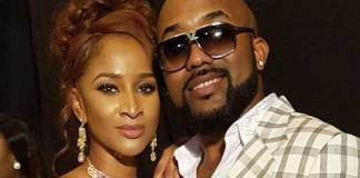 BankyW and wife, Adesua Etomi