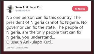 Capture 7 - Nobody can fix Nigeria – Seun Kuti