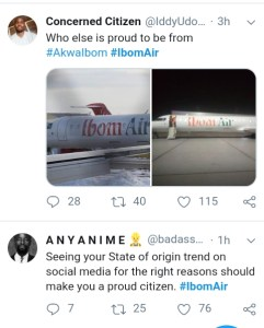 SEE REACTIONS OF NIGERIANS TO THE LAUNCH OF IBOM AIR