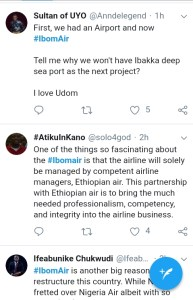 IMG 20190220 122644 1 - SEE REACTIONS OF NIGERIANS TO THE LAUNCH OF IBOM AIR