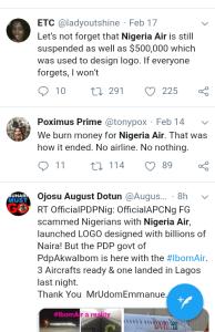 Screenshot 20190220 1844242 - 'WHERE IS NIGERIA AIR?'- NIGERIANS REACT