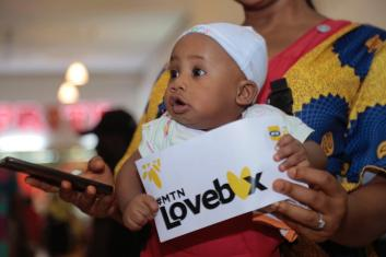 WhatsApp Image 2019 02 14 at 2.51.44 PM - Nkem Owoh, MTN, Samsung, celebrate Valentine's Day with a difference at Enugu mall in #MTNLoveBox campaign