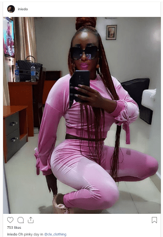 ini - Nollywood Actress, Ini Edo, Shows Off Her Sexy Body In New Photo