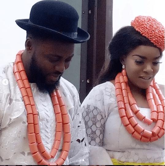 l - Actress Empress Njamah ties the knot with her man