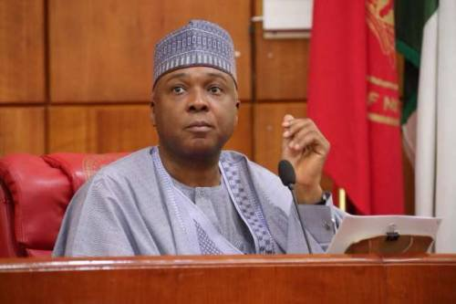 saraki 1 - Video: Saraki's sister throws serious jabs at him on National TV