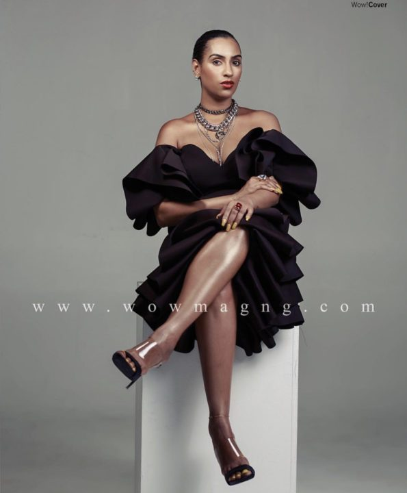 0A696CD9 178F 4901 B240 E8AE48735178 - Juliet Ibrahim commands attention on the cover of Wow Magazine