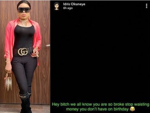 1 3 - You are broke stop wasting money on birthday – Bobrisky throws major shade