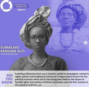 1 35 - Antolecky celebrates International Women's Day by recreating photos of powerful Nigerian women