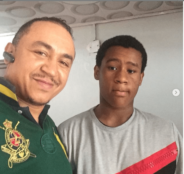 1 55 - Daddy Freeze pens beautiful birthday message for his son as he turns a year older