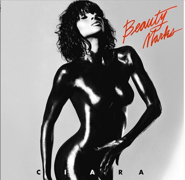 1 70 - Ciara poses completely naked on her new album art