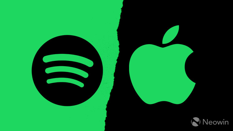 1517850494 applevspotify story - Spotify Continues Push Against Apple With Third Podcast Acquisition