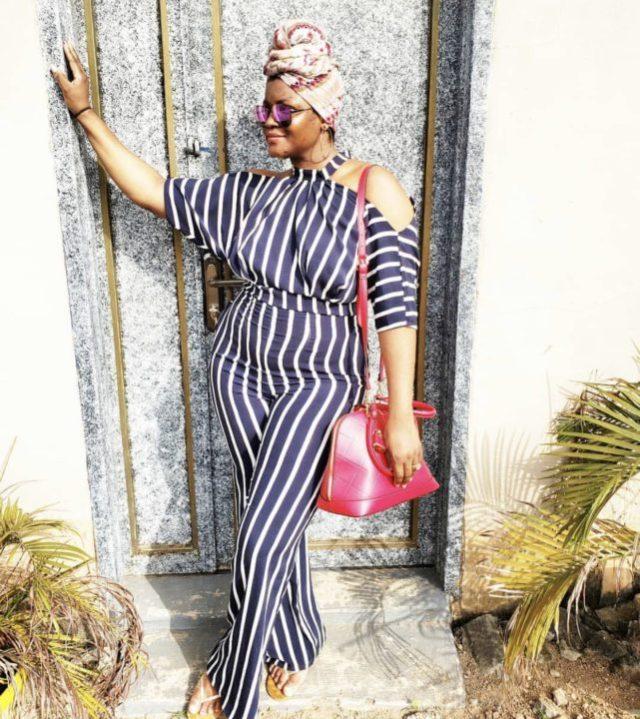 [Photos]Thanks for restoring my confidence 'C' – Omotola Jalade-Ekeinde thanks husband