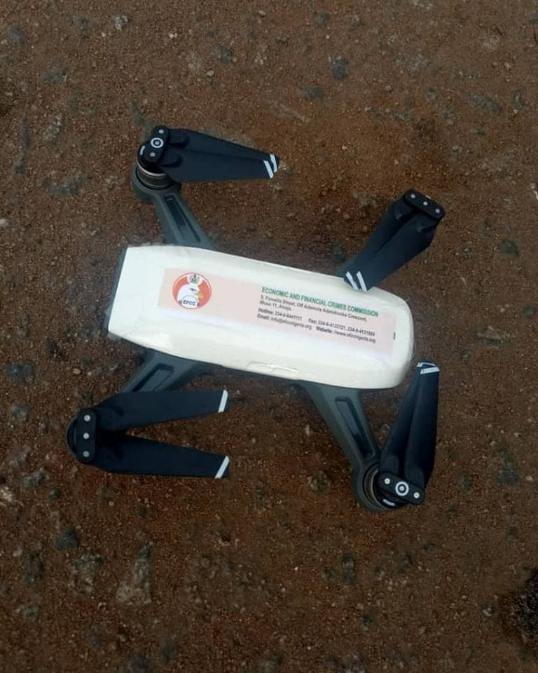 25188d3ead2e4d9d - How EFCC Monitored Election With Drone In Edo State