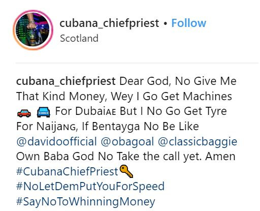 3 1 - Bloody liar! Cubana Chief Priest wickedly drags Hushpuppi in new social media rant
